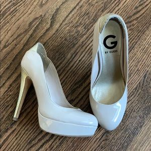 G by guess nude pumps